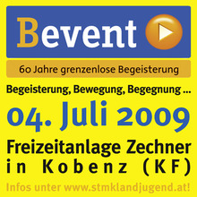 Button bevent 090429ok RZ klein © Archiv